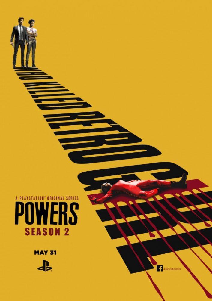 Сверхспособности (Сверхсилы) powers 1, 2 сезон 2015-2016