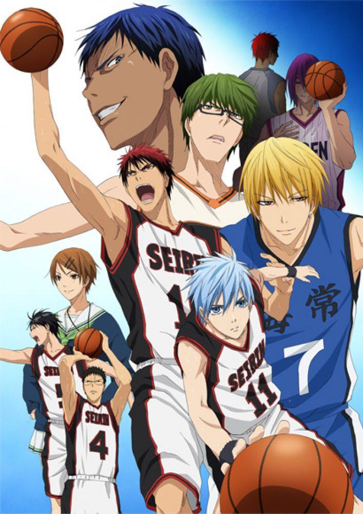 Баскетбол Куроко аниме 1, 2, 3 сезон