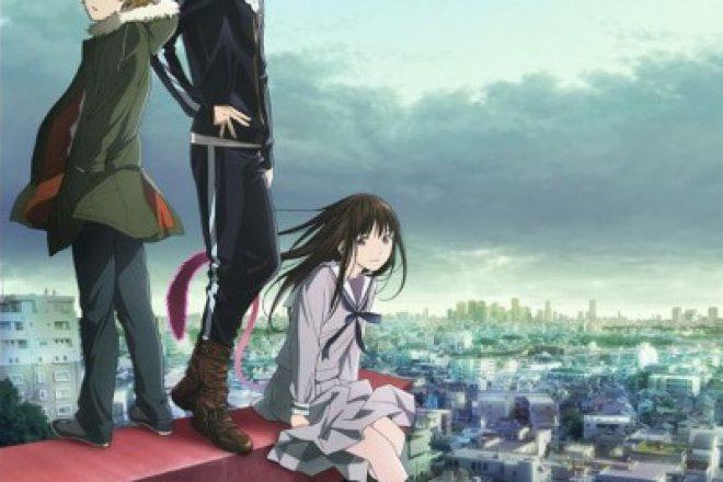 Бездомный Бог аниме 1, 2 сезон