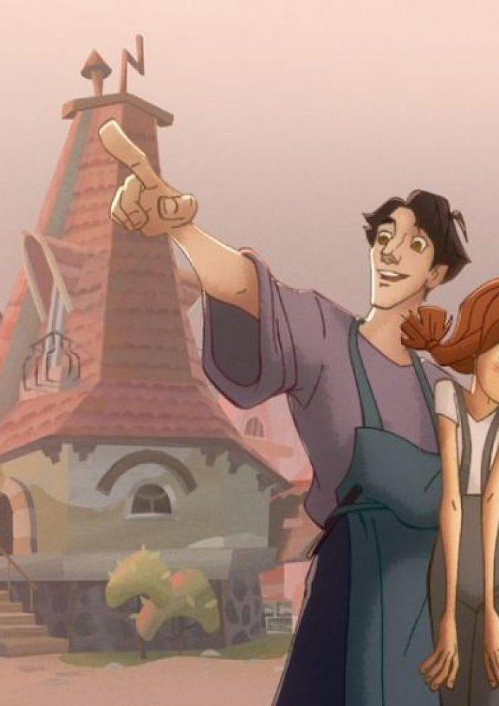 Вышел новый трейлер мультфильма «Огонёк-Огниво»
